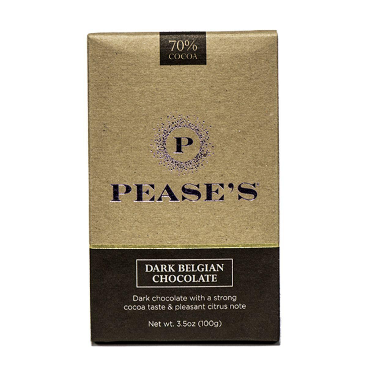 Dark Belgian Chocolate Bar 70%