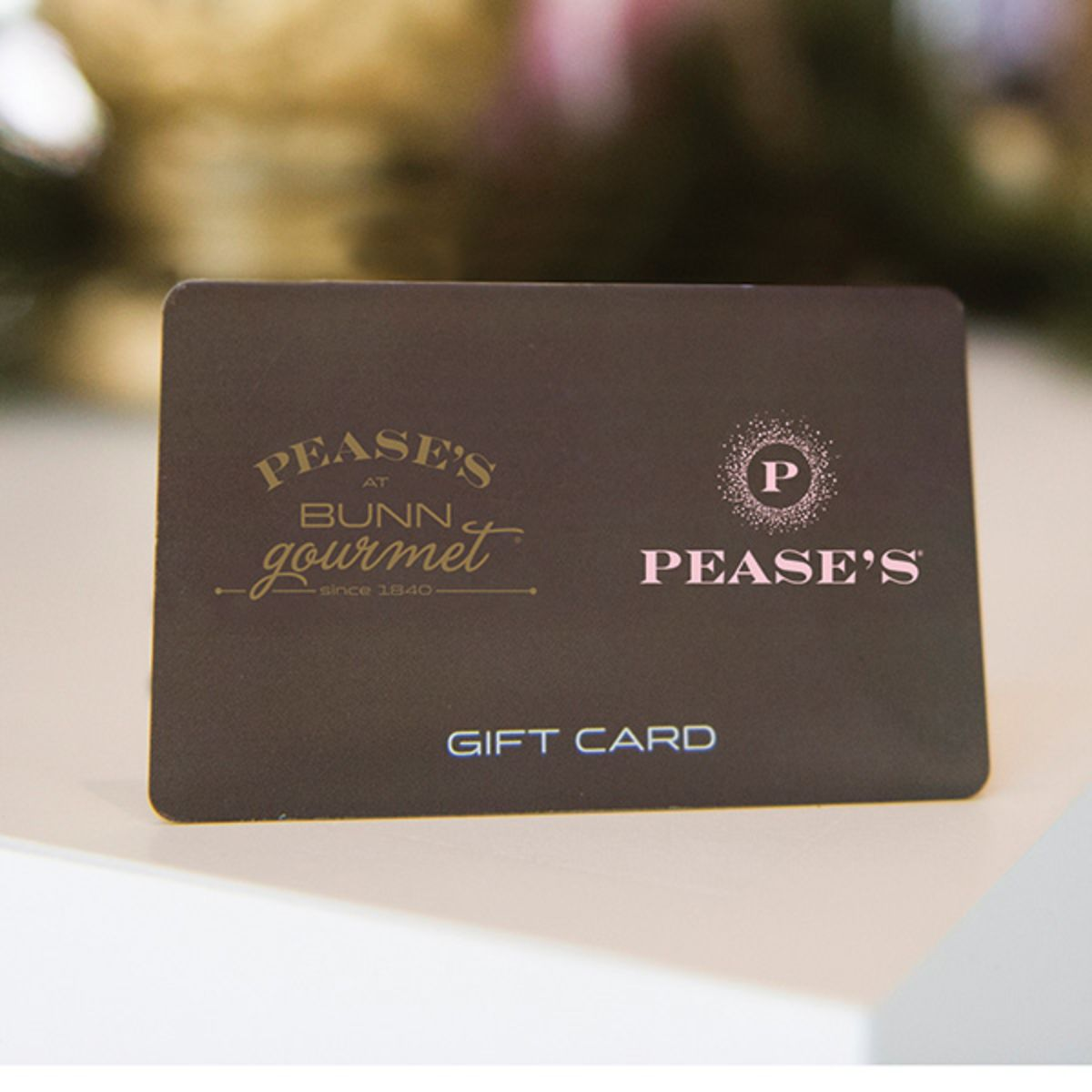 Pease's Gift Cards