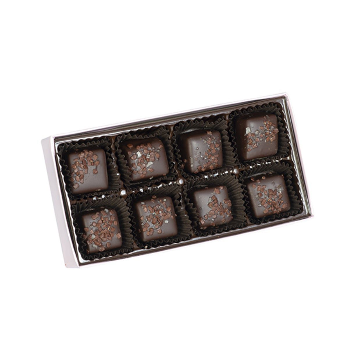 Pease's Dark Chocolate-coated Chocolate Sea Salt Caramels