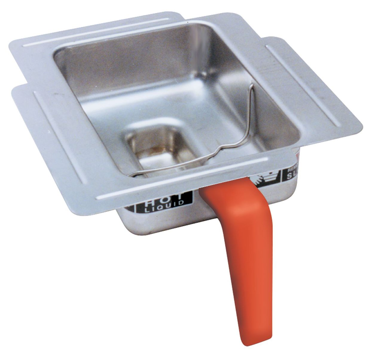 Funnel with Orange Handle