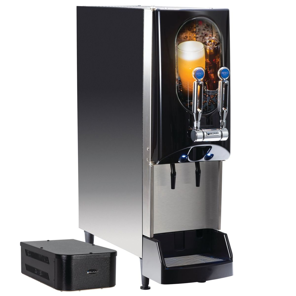 NITRON® Cold Draft All-Nitro with Removable Door Graphics & Gas Module