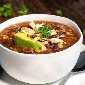 BUNN Gourmet Wild West Chicken Tortilla Soup