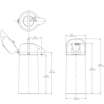 2.5L Push Button Airpot - Single Pack