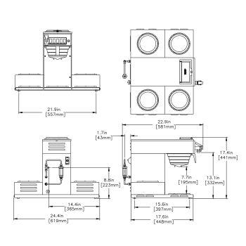 CRTF5-35 (5 Lower Warmers)