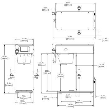 ICB-DV Dual Volt, Platinum Edition, 120V