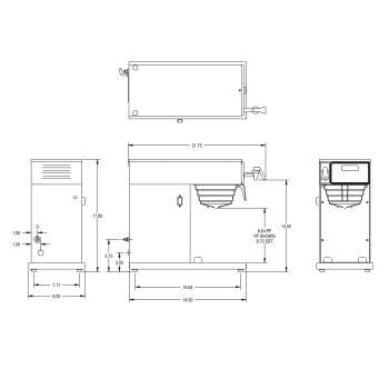 AXIOM® DV-TC Dual Volt Thermal Carafe System