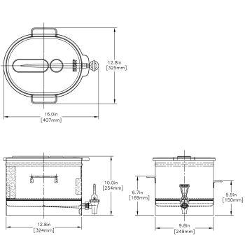 TDO-3.5 LP Low Profile Dispenser