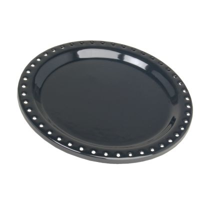 WARMER DISH, BLACK-45 HL