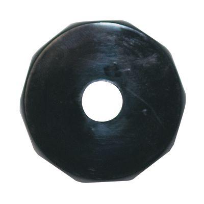BONNET, FAUCET BLACK PLASTIC
