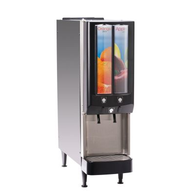 JDF-2S, 120V Push Button Lit Door with 2 Segment Graphics, with Water