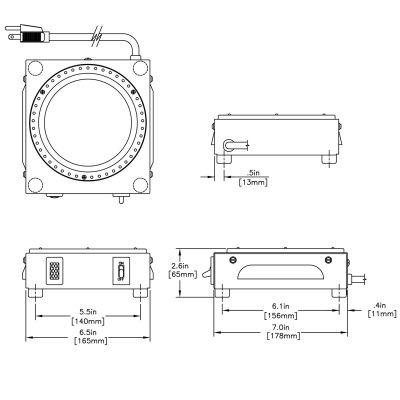 WX1 120V/100W