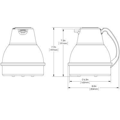 Thermal Carafe BLK (Single Pack)