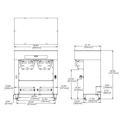 Titan® Dual DBC® 120/208V Brewer