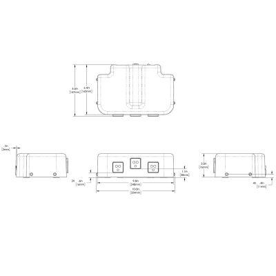JDF-2S Touchless w/ Water Kit