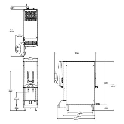 NITRON® Cold Draft Scholle 4:1-12:1 with Removable Door Graphic