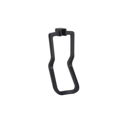 Plastic Faucet Push Handle - Black