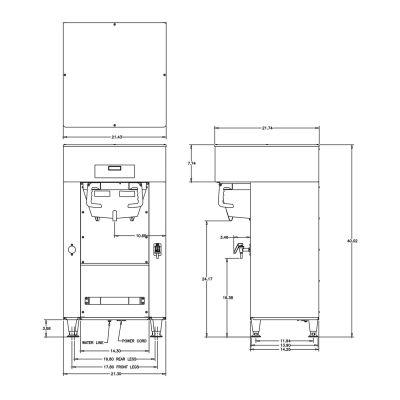 Titan® Single DBC® 120/208V Brewer