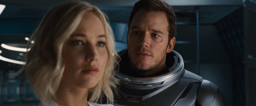 Jennifer Lawrence -Passengers - Sevişme Sahneleri