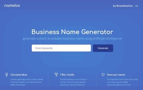Buraya Yazdım Namelix Web Site