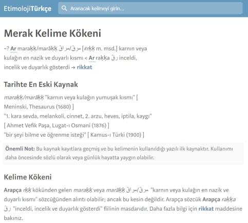 Web Site Buraya Yazdım Etimoloji Türkçe