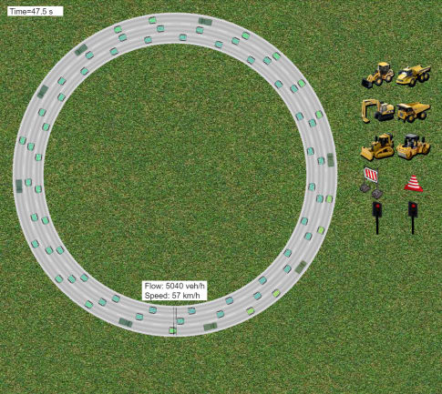Buraya Yazdım Traffic Simulation Web Site