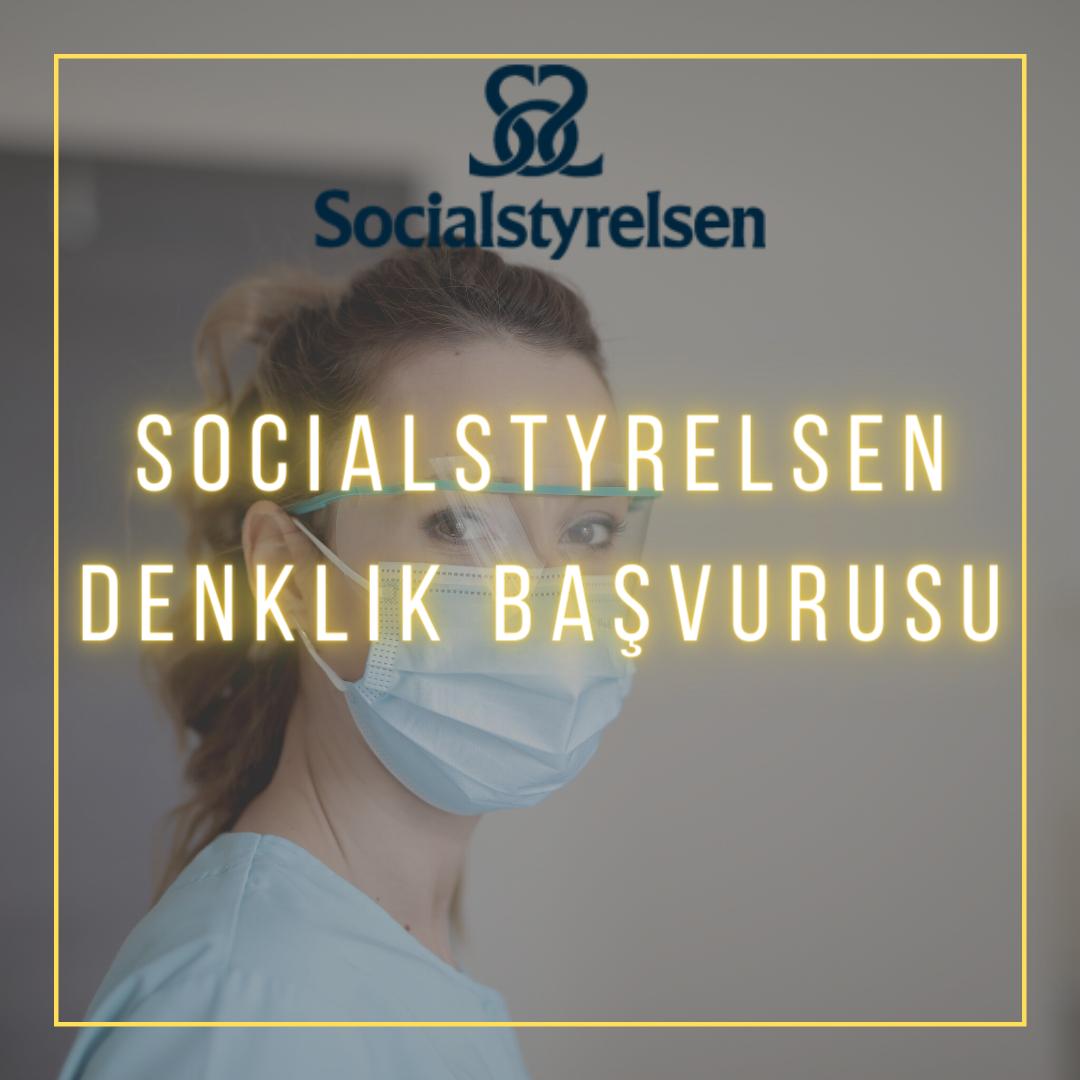 İsveç Danışmalık olarak, Socialstyrelsen kurumundan İsveç'te çalışmanız için bir ön koşul olan diploma denklik prosedürlerini sizin adına zaman kaybetmeden gerçekleştirmekteyiz.