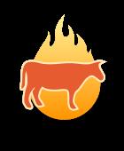 Burntcow MediaWorks Logo Mark