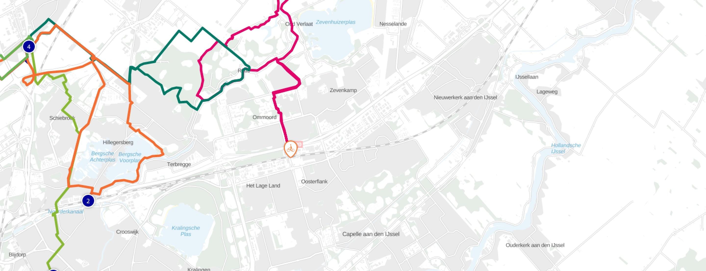 Natuurmonumenten-map