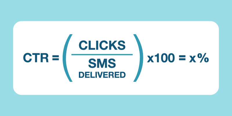general click through rate equation