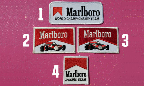 Vintage Marlboro Patches Image