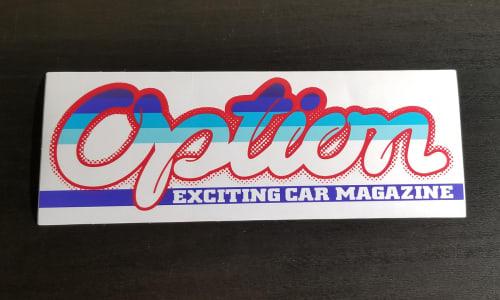 Option Bumper Sticker Image