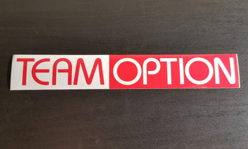 Team Option Sticker (2003) Image