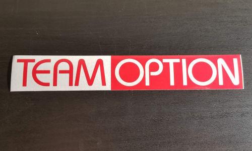 Team Option Sticker (2003) Image