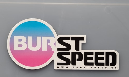 B/S SpeedMaster Sticker Image