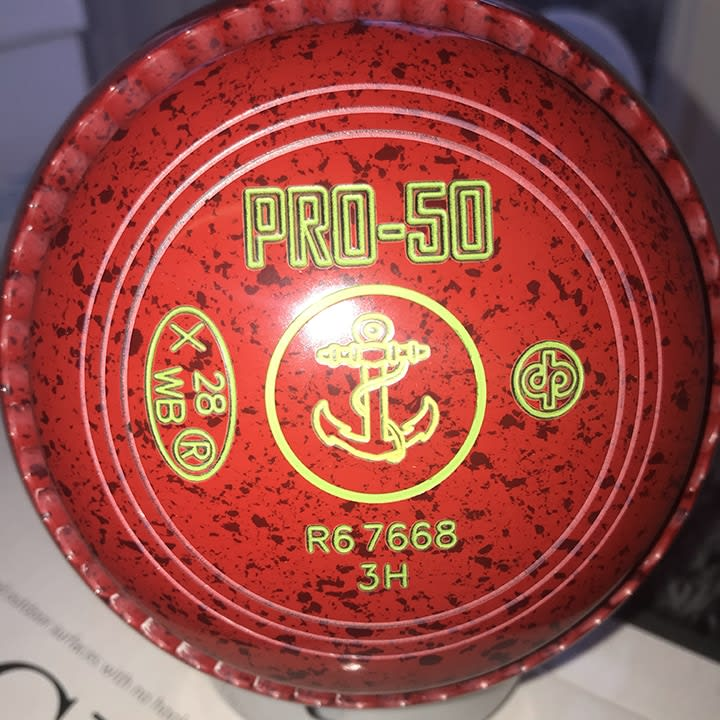 In stock Pro 50 Red/Maroon 3H