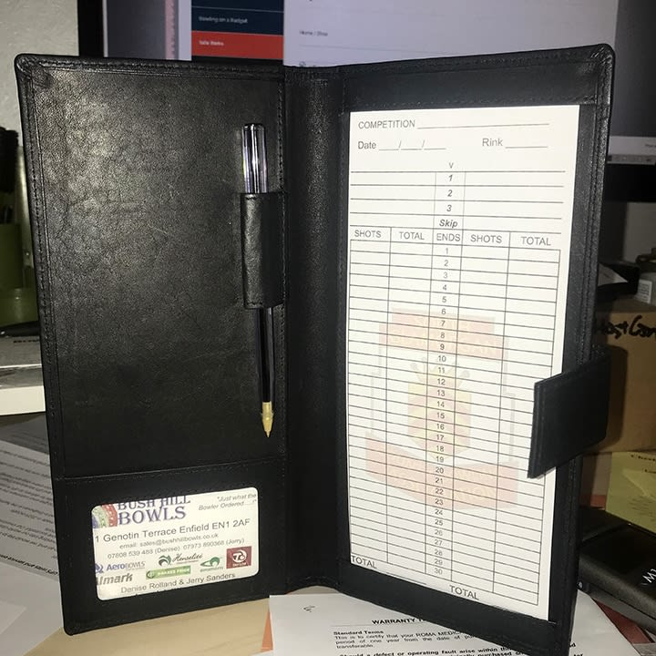 Leather Scorecard Holder