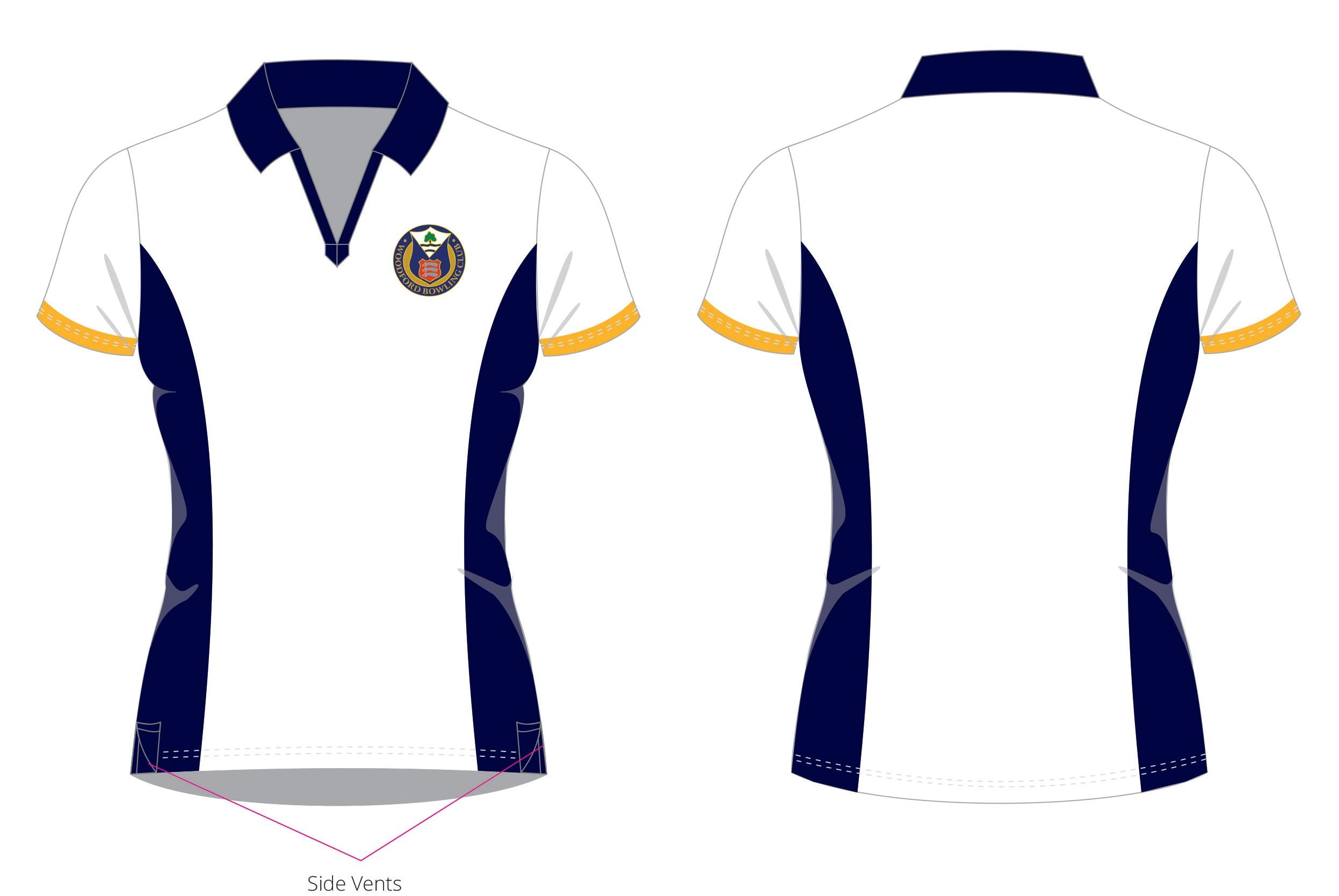 Woodford BC Ladies Club Shirt