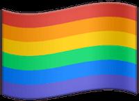 Rainbow flag. LGBT Pride.