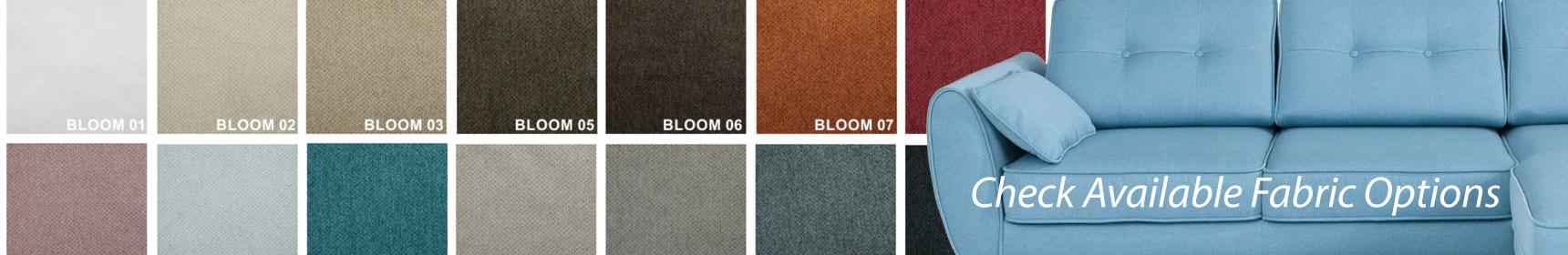 Wersal Fabric Options