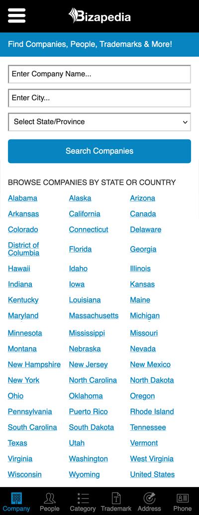Bizapedia Directory