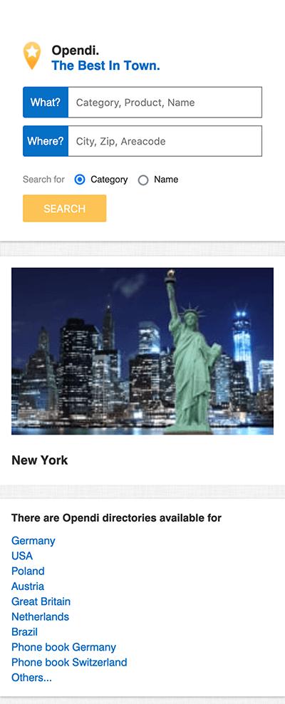 Opendi Business Directory