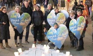 OmasforFuture ist für Klima- und Umweltschutz