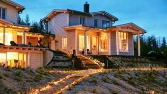 Die wunderschöne Ferienwohnung Seeschlösschen direkt am Strand am Hainer See.