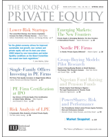 The Journal of Private Equity