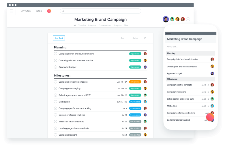 Asana is an amazing project management tool used at Butter, making task collaboration quick and easy