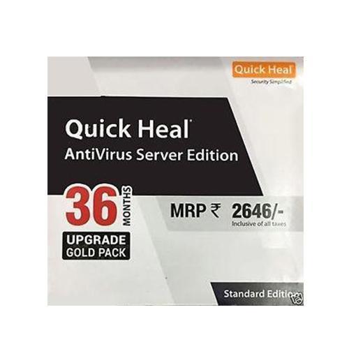 3 years Renew Quick Heal Antivirus for server
