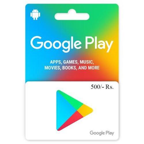 Google Play Card 500