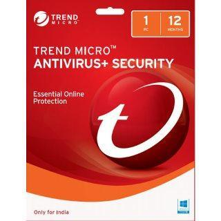 Trend Micro Antivirus Security 1 User 1 Year