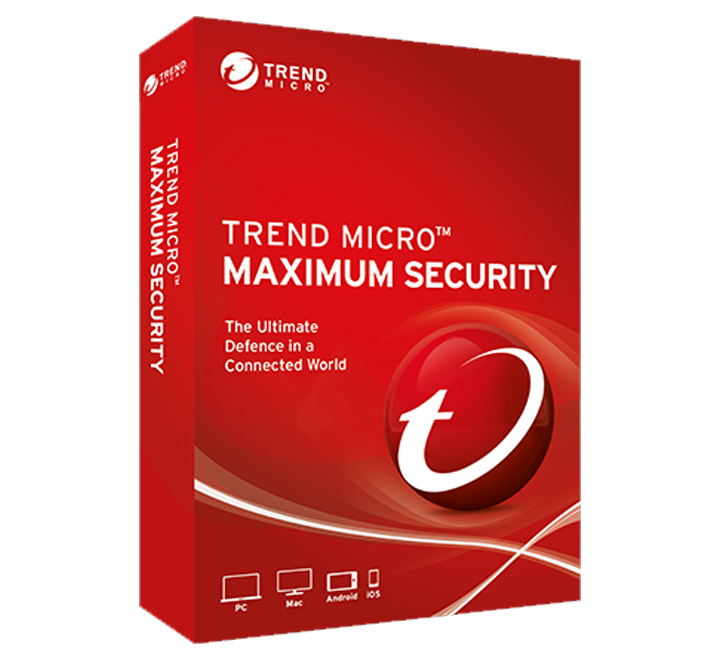 Renew Trend Micro Maximum Security 1 User - 1 Year