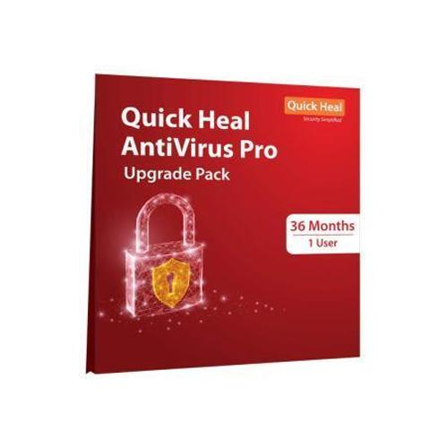 Renew Quick Heal Antivirus for 3 years